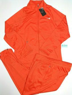 Nike Team Player Staff Warm Up Suit Basketball Orange 2 Piec