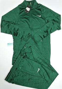 Nike Team Player Staff Warm Up Suit Basketball Green 2 Piece