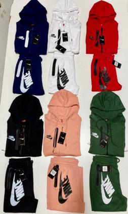 Nike Tech Full-Zip & Bottom Hoodie Brand New Complete Set Me