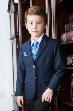 Gioberti Toddlers Kids Boys Formal Blazer Jacket, BLZ