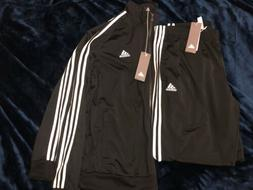 Adidas Track Suit    Black Tricot