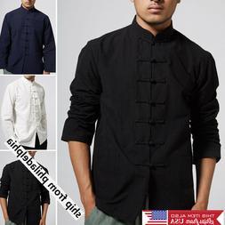Traditional Chinese Tang Suit Coat Kung Fu Tai Chi Uniform J