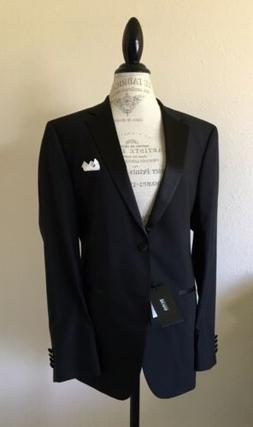 "Hugo Boss Tuxedo/Suit/Formal ""NEW"" 40R  Wool/Silk/Satin Curr"