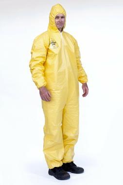 DuPont Tyvek Tychem QC127S QC Chemical Hazmat Coverall Suit
