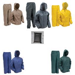 Frogg Toggs UL12104 Ultra Lite Rain Suit New CHOOSE COLOR &