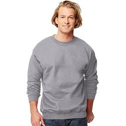 Hanes Men`s Ultimate Cotton® Crewneck Sweatshirt, M-Deep