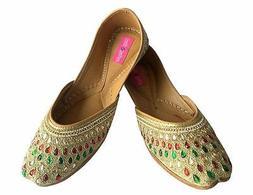 us leather mojari women shoes flip flops