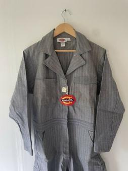 vintage dickies coveralls striped flight suit nwt new deadst