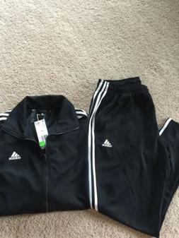 Vintage Adidas Mens 2 Piece Track Suit Jacket Pants Size XL