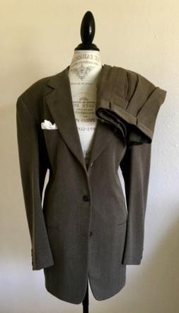 Vtg $2,000 Mens NEW Donna Karan Couture Suit By Martin Green
