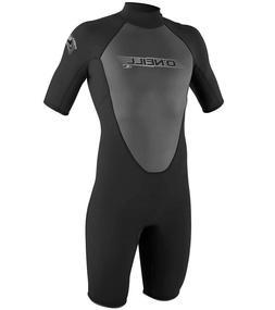 O'Neill Wet suit  Mens 2mm Reactor Spring Suit, Black, XXX-L