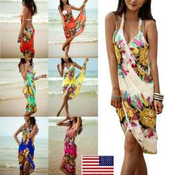 Women Bikini Swimwear Bathing Suit Summer Cover Up Beach Dre