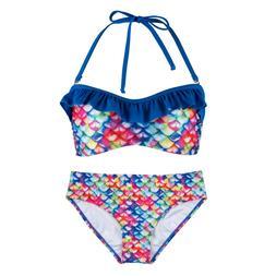 Women's Bandeau Bikini Set by Fin Fun, Swim Suit matches Fin
