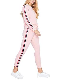 women s casual autumn spring sports sweatsuits