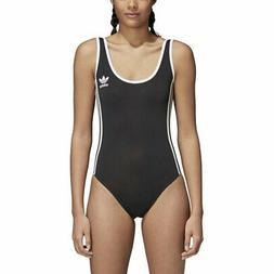 Women's Adidas Originals 3-Stripes Body Suit Black  CE5600