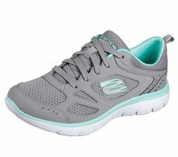 women s summits suited gray turquoise 12982