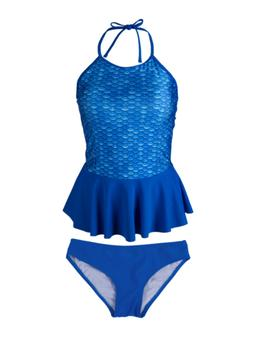 Womens Peplum Tankini Set by Fin Fun, Swim Suit matches Fin