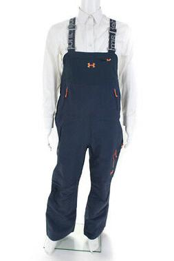 Under Armour Womens Sleeveless Snow Suit Pants Bib Gray Oran