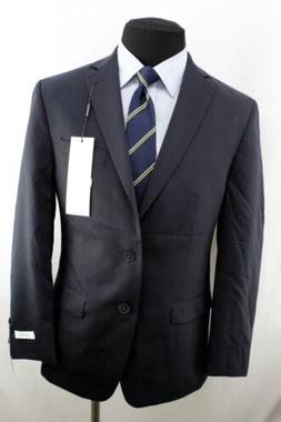 Calvin Klein Men's X Fit Stretch Slim Suit, Black 40 Regular