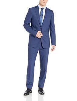 Calvin Klein Men's X-Fit Two-Piece Suit New Blue 42 Regular