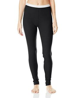 Hanes Women's X-Temp Thermal Underwear Bottoms, Black, X-Lar