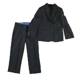 Dockers Youth Boys Black Regular Suit Coat & Dress Pants Set
